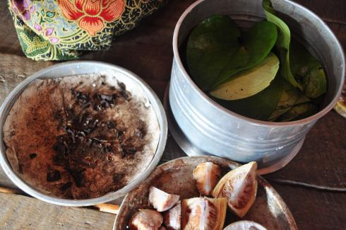 The ingredients of Betel